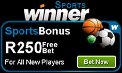 Winner Sports R250 Sports Bonus In Free Bets